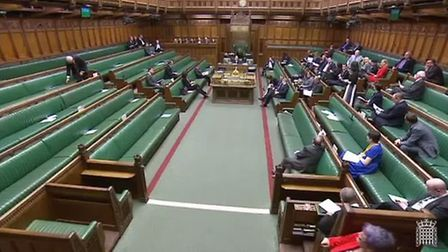 The House of Commons was not busy at the time of MP Layla Moran's climate change debate, which MPs G