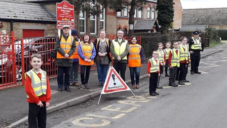 Local Councillors Sarah Bligh and Gavin Booth joined forces with local PCSO's, Speedwatch group and