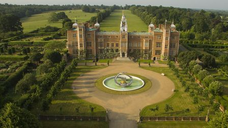 Jonas Brothers filmed the video for single Sucker at Hatfield House in Hertfordshire. Picture: Hatfi