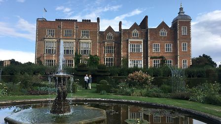 Hatfield House from the West Garden. Picture: Alan Davies.