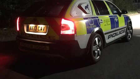 Police were in Welwyn Garden City last night during the course of an investigation into a stabbing.
