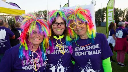 Star Shine Night Walk for Arthur Rank Hospice. Registration is open to people who want to join the f