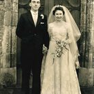 Derek and Ann Hines celebrate their Diamond wedding anniversary. Picture: LILIAN REAM