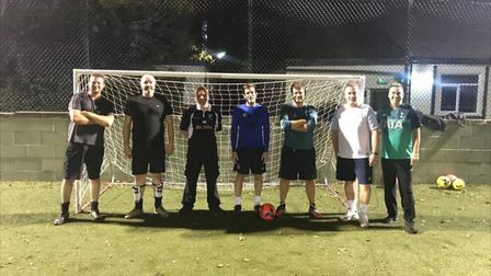 SPACE for Dads play football at Breaks Manor in Hatfield each Tuesday evening, followed by social po