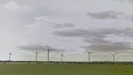 Biggleswade wind farm. Picture: Google Streetview