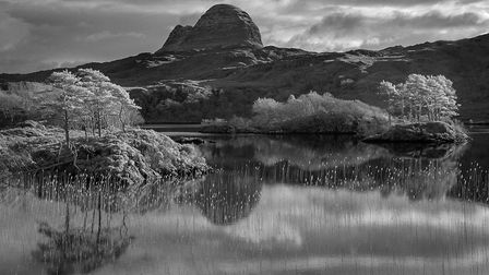 Suilven view by Neil Malton, past president of the Peterborough Photographic Society, who gave a tal