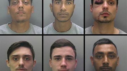 The six men all convicted of stabbing people to death in Cambridgeshire – police have released a ple