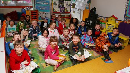 Year one children at Holy Family Catholic Primary School are celebrating Book Week by dressing up in