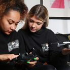 Ayala Daly and Holly Hunter have set up Flair Media to shoot promotional videos for local businesses
