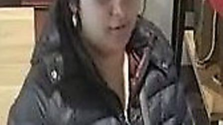 Officers believe this woman may have information that can assist their investigation into a distract