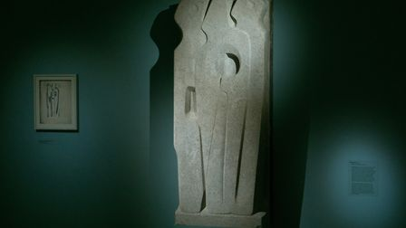 Vertical Forms in the new Barbara Hepworh exhibition at St Albans Museum + Gallery. Picture: St Alba