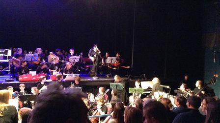 Over 400 pupils got involved in a cross-schools concert in Potters Bar. Picture: supplied