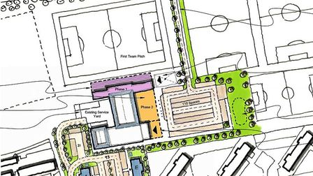 Early plans for the redevelopment of Birchwood Leisure Centre in Hatfield. Picture: Saunders Archite
