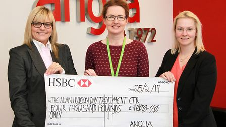 Anglia's community programme. The Alan Hudson day treatment centre Picture: ANGLIA COMPONENTS
