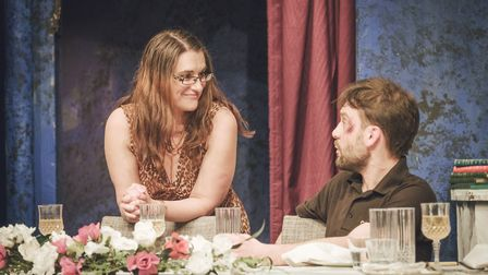 Dinner at The Barn Theatre in Welwyn Garden City. Picture: Simon Wallace / MeltingPot Pictures.