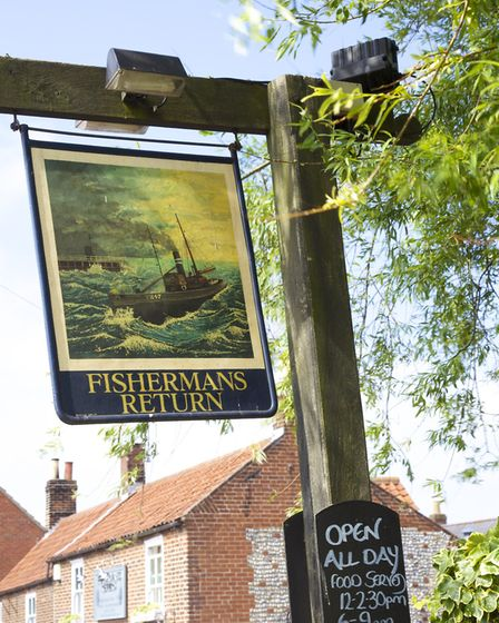 The Fisherman's Return pub in nearby Winterton is great for a spot of lunch. Picture: BELLE AIRE.