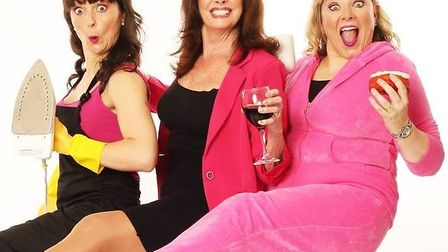 Hormonal Housewives comes to the King's Lynn Corn Exchange on Saturday April 7.