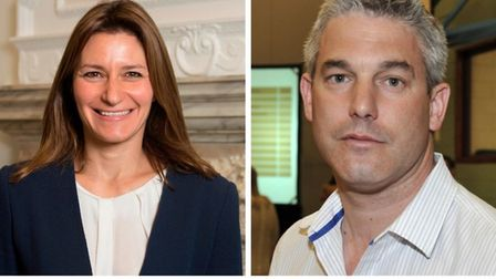 Five times as many people in the constituency of SE Cambs Lucy Frazer (left) have signed the revoke