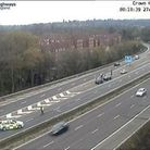 Police dealt with a crash on the A1(M) near Welwyn Garden City this morning.