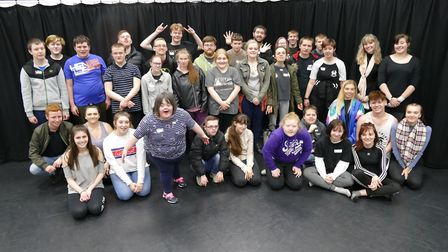 Meadowgate students stage a show for the College of West Anglia Isle campus in Wisbech. Picture: CWA