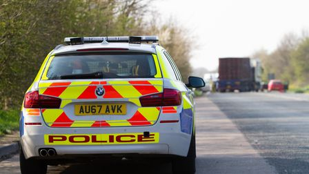 Nine police cars, four fire engines, two ambulances and an air ambulance were called to a serious co