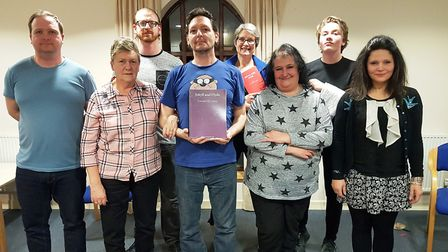 Anglian Players are in rehearsals for a production of Jekyll and Hyde. Picture: ANGLIAN PLAYERS