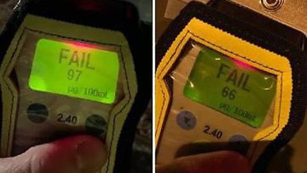 Two drink drivers were arrested overnight on Saturday (March 23). Picture: POLICING FENLAND.