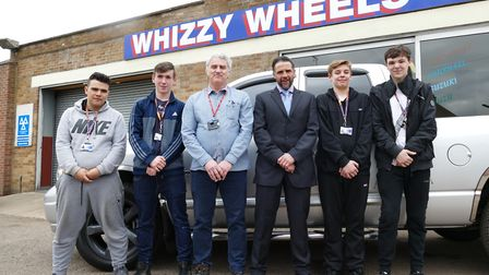 Whizzy Wheels garage in Leverington opens its doors to College of West Anglia students to 'train the