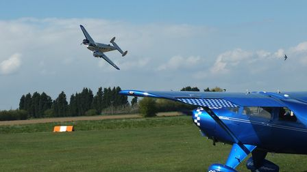 Vintage day of flying at Holbeach St James for Fenland Aero Club, Picture; ALISTAIR GOODRUM