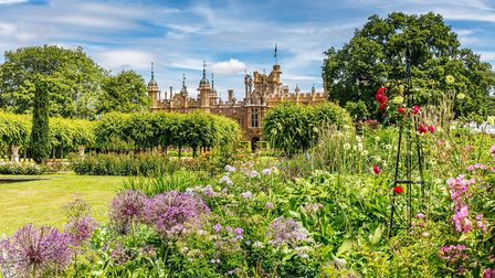 The gardens at Knebworth House. [Picture: Chris Orange]