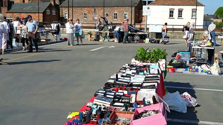 This year's Horsefair Shopping Centre Easter car boot sale will be held on April 22 on the top floor