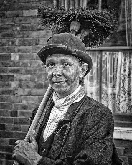 Wisbech & District Camera Club holds its annual print of the year competition. Chimney Sweeper by Da