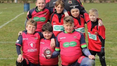 Wisbech Rugby Union under 11's praised at first Holt Festival match. Picture: CLUB.