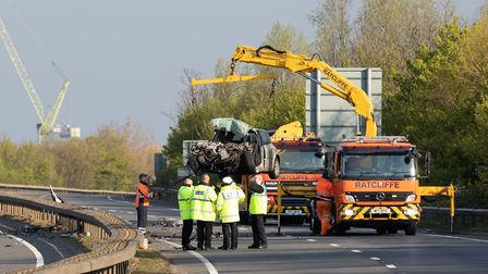 THREE people Killed in a head on collision..THREE people have died in a collision on the Fletton Par