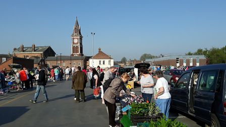 This year's Easter charity car boot sale which takes place in the same location as the Bank Holiday
