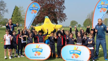 As part of the partnership with Cambs County Cricket, Wisbech Grammr School hosted their first 'All