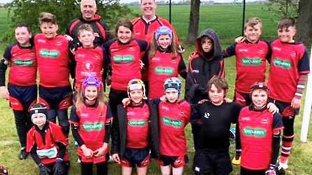 Wisbech under 11s rugby team travelled to the Deepings festival to round off a successful season. Pi