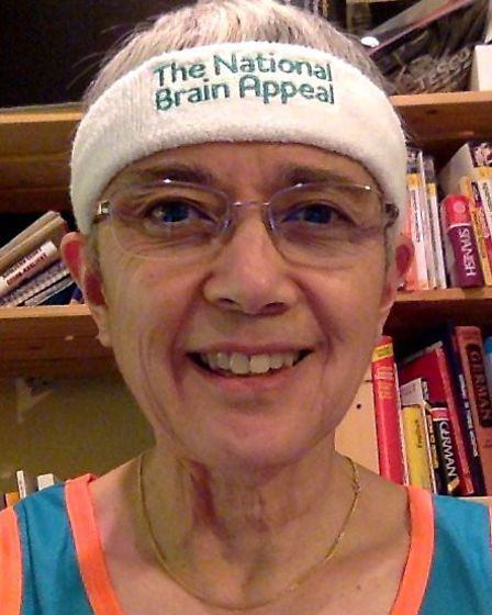 Melody McLaren is running the London Marathon for The National Brain Appeal for the third time. Pict