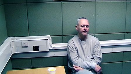 Kestutis Bauzys, 48, who was found sleeping in a tent in the woods outside of Wisbech and arrested.
