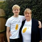 Hatfield mother Sandra Ison and her 14 year-old son Ben will do the 25km Easter Walk at Windsor in a