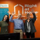The Right at Home Welwyn, Hatfield & St Albans office team. Picture: supplied.