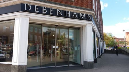 Debenhams in Welwyn Garden City is earmarked to close in 2020. Picture: Nina Morgan