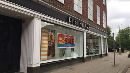 Debenhams in Welwyn Garden City is one of 22 stores earmarked for closure. Picture: Alan Davies