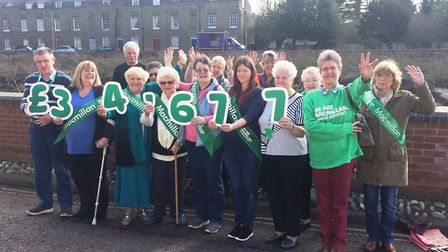Amazing result by the Macmillan fundraising group in Wisbech who raised £34,677 last year to support