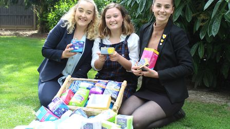 Pupils at Wisbech Grammar School supported the homeless in Fenland by raising money for The Ferry Pr