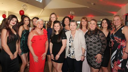 It was glitz and glamour for Wisbech Town Hockey Club who held their annual awards night. The ladies