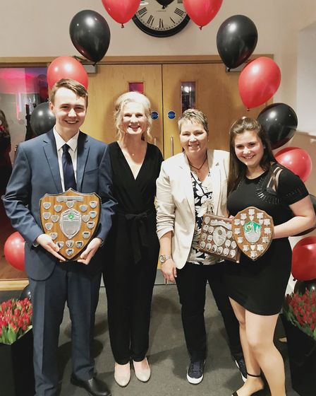 It was glitz and glamour for Wisbech Town Hockey Club who held their annual awards night. Joshua Wat