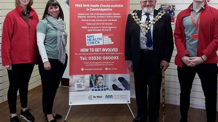 Health and wellbeing pop up shop now open in the Horsefair Shopping Centre in Wisbech. Picture: EVER