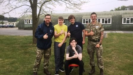 Endurance tested for these students from Wisbech who took part in a gruelling three day exercise in