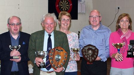 Ten trophies were awarded at Wisbech & District Camera Club's presentation night as the club's seaso